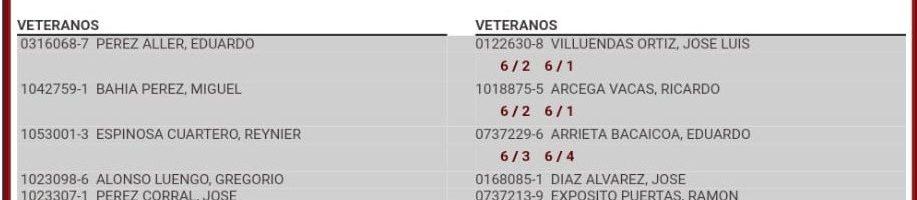 3ª Jornada Liga Veteranos Intersemanal +55