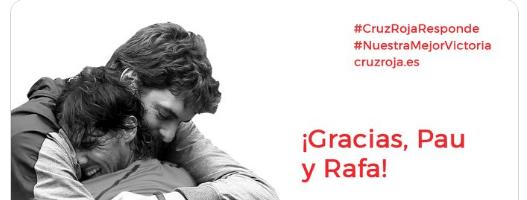 Nuestra colaboración con el proyecto #CruzRojaResponde