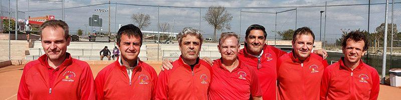 Equipo +45 partidos frente al CT Valdemorillo